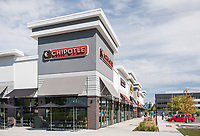 Architectural exterior of Retail Center at Airport Square Office Park by Jeffrey Sauers of Commercial Photographics, Architectural Photo Artistry in Washington DC, Virginia to Florida and PA to New England