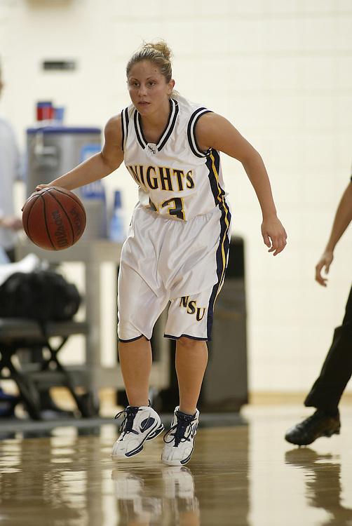 2005 NOVA SOUTHEASTERN UNIVERSITY Women's Basketball vs Barry - SSC Tournament