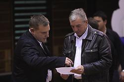 Matej Avanzo in Iztok Rems na Dnevu slovenske moske kosarke, 26. decembra 2008, na Planini, Kranj, Slovenija. (Photo by Vid Ponikvar / Sportida)