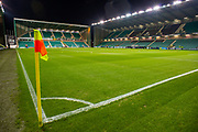 General view inside Easter Road Stadium, Edinburgh, Scotland during the Ladbrokes Scottish Premiership match between Hibernian FC and Hamilton Academical FC on 22 January 2020.