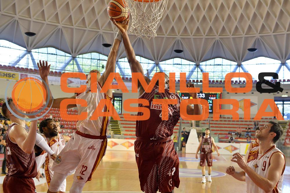 Benjamin Raymond, Daniele Sandri<br /> Unicusano Virtus Roma - FMC Ferentino<br /> Campionato Basket LNP 2016/2017<br /> Roma 15/04/2017<br /> Foto M.Ceretti / Ciamillo-Castoria