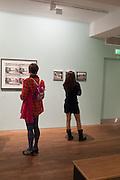 SILVIA ZIRANEK; VALERIE GENTY, Warhol, Burroughs and Lynch exhibition. The Photographers' Gallery, Ramillies Place, London. 16 January 2014.