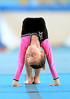 20 Aug 2016:  Alicia McKiernan Heaphy, from Wexford, performs in the U9 Gymnastics.   2016 Community Games National Festival 2016.  Athlone Institute of Technology, Athlone, Co. Westmeath. Picture: Caroline Quinn