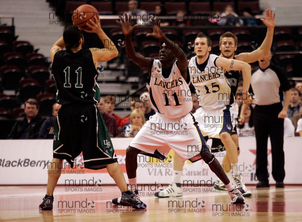 CIS Basketball Champioships-Ottawa, March 19, 2010, Windsor Lancers-Issac Kuon