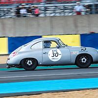 #30, PORSCHE 356 Pre A 1954, drivers: J. PENILLARD / G. MOREL, Grid 2, on 06/07/2018 at the 24H of Le Mans, 2018
