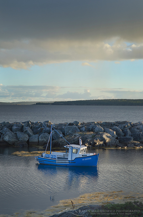 Blue Fishing boat, Blue Rocks Nova Scotia