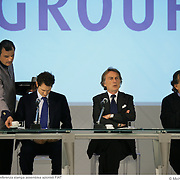 31 marzo 2008 Lingotto conferenza stampa assemblea azionisti FIAT
