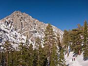 Heavenly resort, Lake Tahoe, Sierra Nevada, California