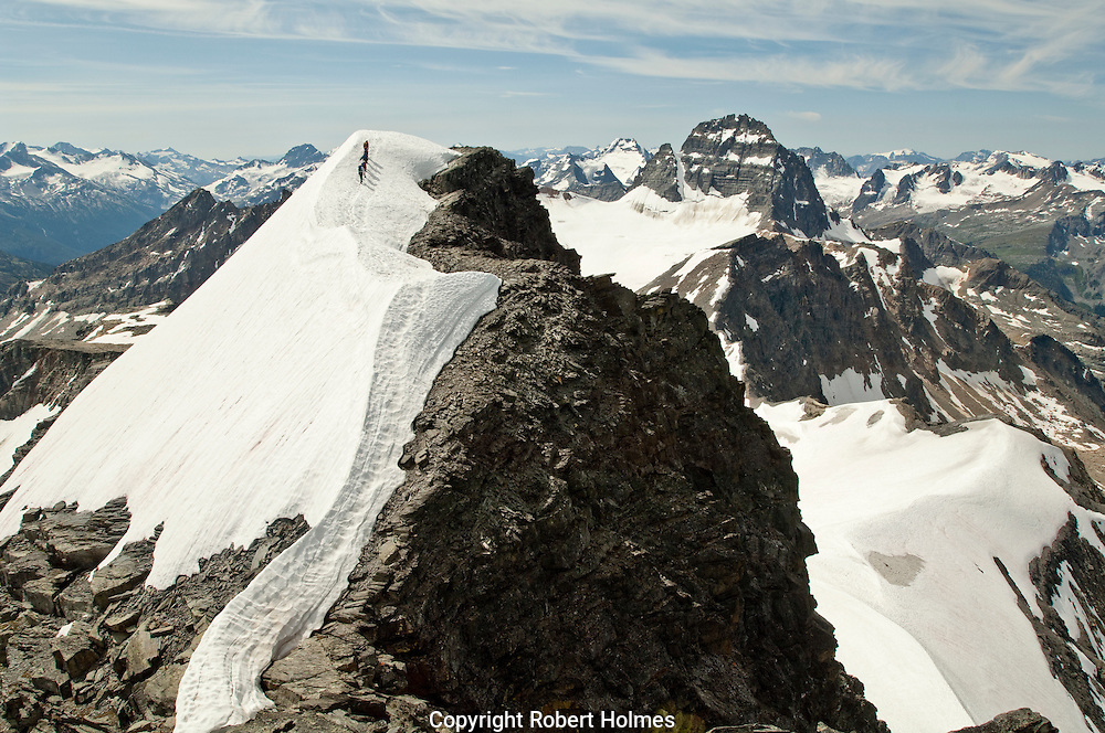Climbing in the Bugaboo Mountains, British Columbia, Canada