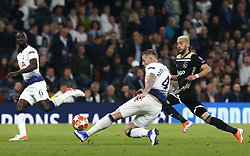 April 30, 2019 - London, England, United Kingdom - Tottenham Hotspur's Toby Alderweireld.during UEFA Championship League Semi- Final 1st Leg between Tottenham Hotspur  and Ajax at Tottenham Hotspur Stadium , London, UK on 30 Apr 2019. (Credit Image: © Action Foto Sport/NurPhoto via ZUMA Press)