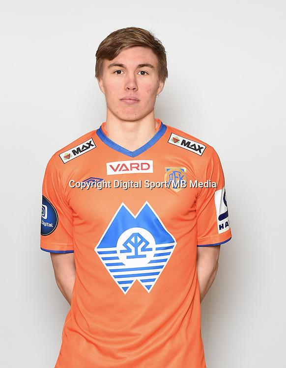 Fotball , Eliteserien , Tippeligaen  2015 , portrett , portretter<br /> Aalesund<br /> Daniel Gretarson