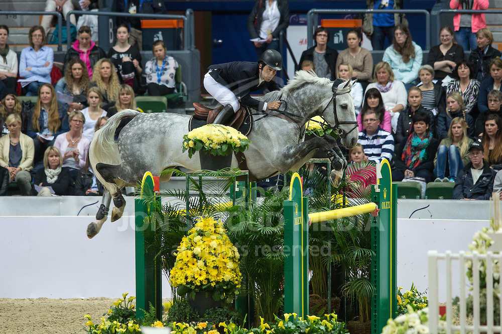 Sergio Alvarez Moya (ESP) & Carlo - Rolex World Cup Jumping Final R3/1 - Gothenburg Horse Show 2013 - Scandinavium, Gothenburg, Sweden - 28 April 2013