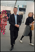 MATHEW SLOTOVER; EMILY KING, Opening of Frieze art Fair. London. 14 October 2014