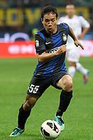 """Yuto Nagatomo Inter<br /> Milano 30/09/2012 Stadio """"San Siro""""<br /> Football Calcio Serie A 2012/13<br /> Inter v Fiorentina<br /> Foto Insidefoto Paolo Nucci"""