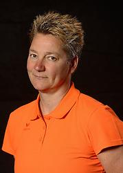 28-06-2013 VOLLEYBAL: NEDERLANDS MEISJES VOLLEYBALTEAM: ARNHEM <br /> Selectie Jeugd Oranje meisjes seizoen 2013-2014 / Head coach Saskia van Hintum<br /> ©2013-FotoHoogendoorn.nl