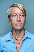 Falun, 2014. Sara Stengård, rektor för Internationella Engelska skolan i Falun. Foto: Markus Marcetic