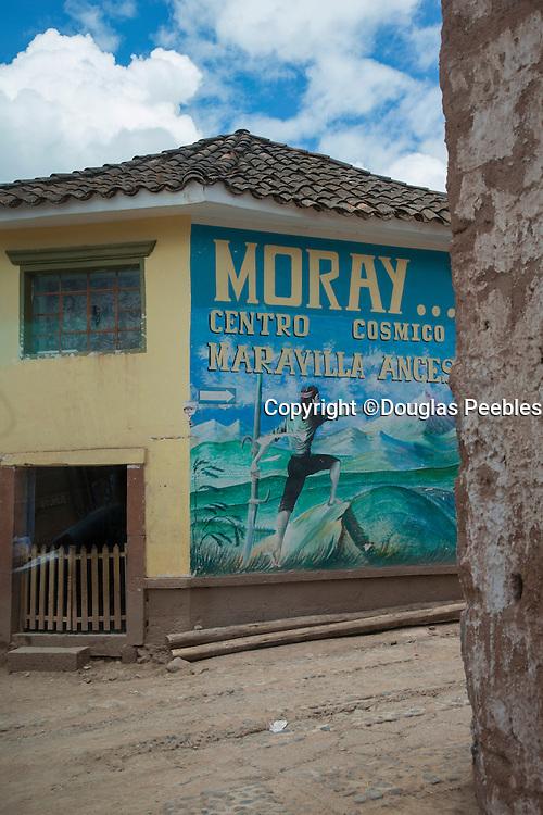 Moray town, Sacred Valley, Cusco Region, Urubamba Province, Machupicchu District, Peru