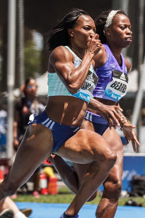 adidas Grand Prix Diamond League Track & Field: womens 400m, Novlene Williams-Mills, Jamaica