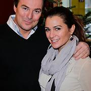 NLD/Amsterdam/20111208- Sky Radio Christmas tree for Charity, Quinty Trustfull - van den Broek en Casper Brugi