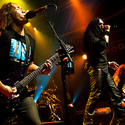 "Dragonforce performs on the final leg of their Ultra Beatdown North South American Tour in support of their latest album ""Ultra Beatdown"" at The House of Blues Sunset Strip in West Hollywood, California USA on September 18, 2009."