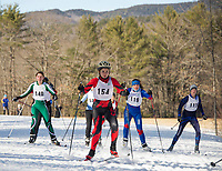 St Paul's School Nordic Races at Proctor Academy.  ©2020 Karen Bobotas Photographer