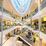 8 desember 2014. 16 dager til julaften. Kj&oslash;pesenteret Sandens i Kristiansand sentrum er klar for jul. Fotografert med senterets tillatelse.<br /> <br /> December 8 2014. The shopping mall in Kristiansand are ready for christmas.