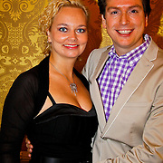 NLD/Amsterdam/20100503 - Perspresentatie Guido's Orchestra , Guido Dieteren en partner Wendy Kokkelkoren