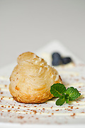 Editorial photography of food at Vetro 1925 restaurant in Fayetteville, Arkansas.
