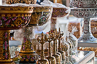 Religious items in the market at Klungklung in Bali Indonesia
