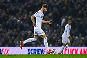 Liam Cooper of Leeds United (6) in action during the EFL Sky Bet Championship match between Leeds United and West Bromwich Albion at Elland Road, Leeds, England on 1 March 2019.