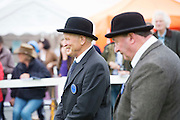 Sean Kelly and Val Noone judging at the 93rd annual Connemara Pony show in Clifden Co. Galway  Photo:Andrew Downes, XPOSURE <br />   Photo: Andrew Downes, Xposure.