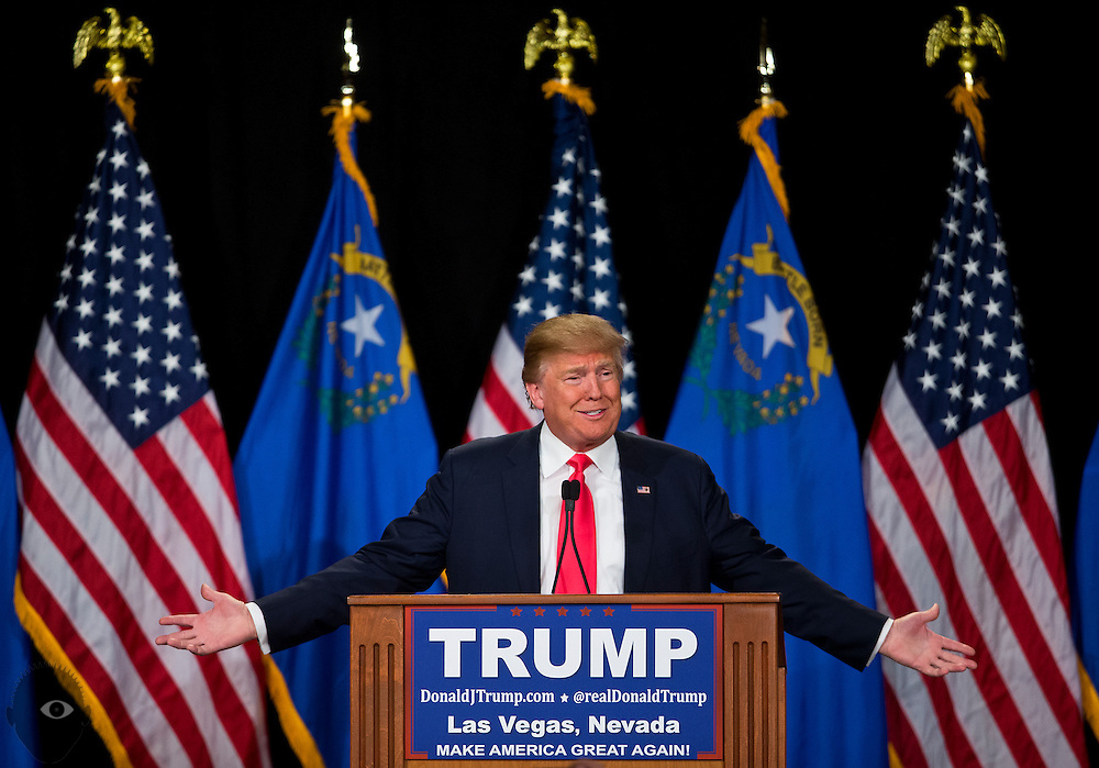 Republican Presidential candidate Donald Trump returns to Las Vegas for another rally, this time at South Point Hotel, Casino and Spa on Thursday, January 21, 2016. L.E. Baskow