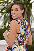 May 16, 2014 - Cannes, France - CANNES, FRANCE - MAY 16: <br /> <br /> 'The Captive' Photocall - Cannes 2014<br /> <br /> Actress Rosario Dawson attends 'The Captive' photocall at the 67th Annual Cannes Film Festival on May 16, 2014 in Cannes, France. ©Exclusivepix