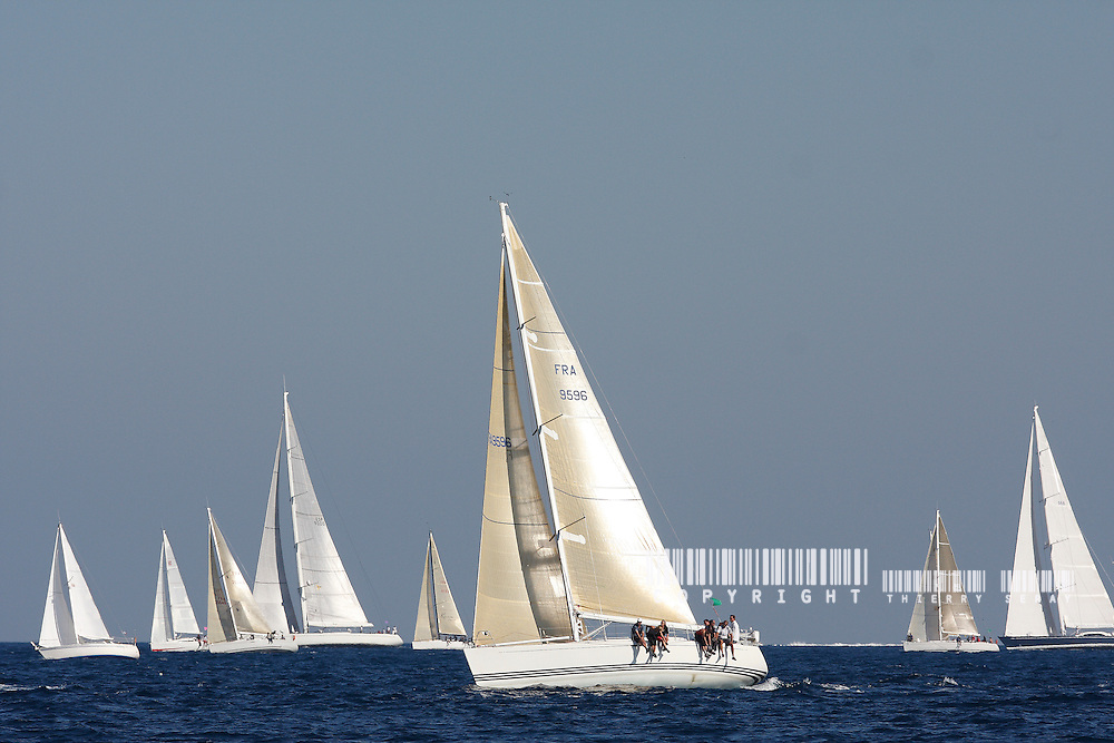 VOILES DE SAINT-TROPEZ 2008. COPYRIGHT : THIERRY SERAY 2008