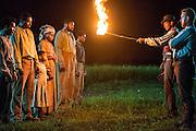 "Alano Miller as Cato in WGN America's ""Underground."""