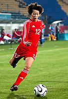 Fotball<br /> Foto: Dppi/Digitalsport<br /> NORWAY ONLY<br /> <br /> 15TH ASIAN GAMES 2006 - DOHA (QAT) - 4/12/2006<br /> <br /> FOOTBALL WOMEN - KINA V JORDAN (12-0) - ZHANG TONG (CHN)