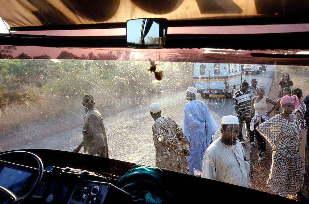 TAXI COLLECTIF, REGION DE SEGOU, MALI