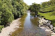 River Wharfe valley, Wharfedale, Kettlewell , Yorkshire Dales national park, England, UK