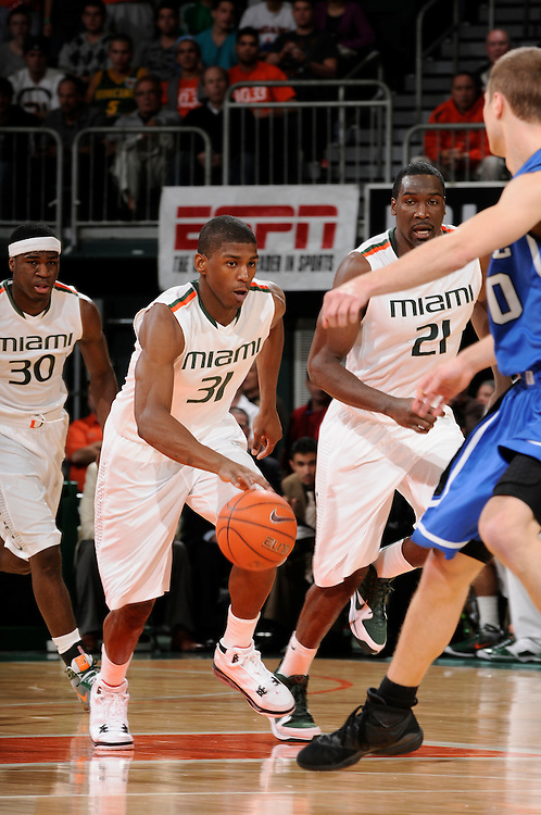 2010 Miami Hurricanes Men's Basketball vs Duke