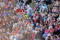 Stranda 20110501. Ca 1700 tilskuere såg cupkampen mellom Stranda og Aalesund i 1. runde av Norgesmesterskapet i fotball for herrer på Stranda Stadion søndag kveld.<br /> Foto: Svein Ove Ekornesvåg