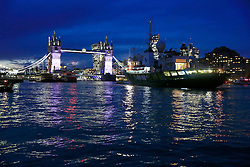 UK ENGLAND LONDON 18NOV16 - The Greenpeace ship Esperanza arrives in London.<br /> <br /> jre/Photo by Jiri Rezac<br /> <br /> © Jiri Rezac 2016
