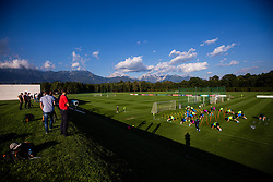 during practice session of Slovenian national football team in national football center in Brdo, 2nd of September, 2019, NNC Brdo. Photo by Grega Valancic / Sportida