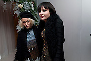 JAMIE WINSTONE; PEARL LOWE, English National Ballet launches its Christmas season with a partyu before s performance of The Nutcracker at the Coliseum.  St. Martin's Lane Hotel.  London. 16 December 2009 *** Local Caption *** -DO NOT ARCHIVE-© Copyright Photograph by Dafydd Jones. 248 Clapham Rd. London SW9 0PZ. Tel 0207 820 0771. www.dafjones.com.<br /> JAMIE WINSTONE; PEARL LOWE, English National Ballet launches its Christmas season with a partyu before s performance of The Nutcracker at the Coliseum.  St. Martin's Lane Hotel.  London. 16 December 2009