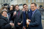 Copenhagen, 16-04-2016<br /> <br /> Danish Royal Family at the balcony of Amalienborg Palace on the occasion of Queen Margrethe's birthday.<br /> <br /> ROYALPORTRAITS EUROPE BERNARD RUEBSAMEN