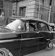 14/05/1959<br /> 05/14/1959<br /> 14 May 1959<br /> Mr. Hully leaving the High Court to attend at District Court.