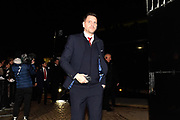 Middlesbrough manager Jonathan Woodgate arrives ahead of the EFL Sky Bet Championship match between Fulham and Middlesbrough at Craven Cottage, London, England on 17 January 2020.