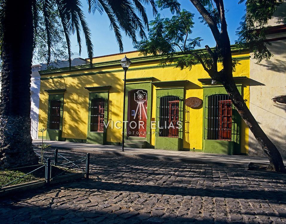Colonial architecture. Oaxaca, Mexico.