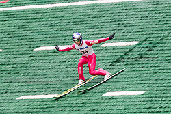 Tomasz Pilch from Poland during Ski Jumping Continental Cup Kranj 2018, on July 8, 2018 in Kranj, Slovenia. Photo by Urban Urbanc / Sportida