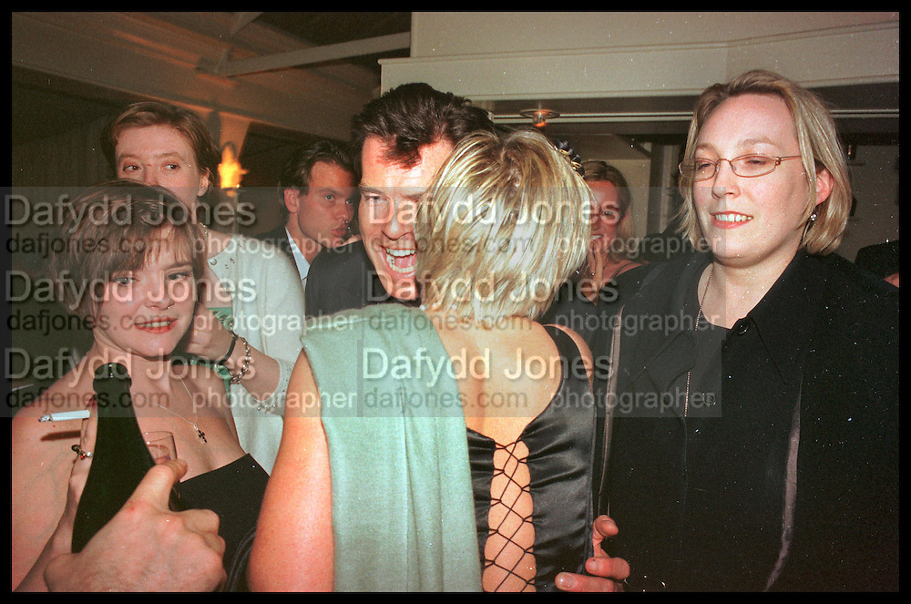 PIERCE BROSNAN, Tatler Bafta party hosted by Jane Procter and Charles Finch. Lola's. Upper St. London. April 1999.