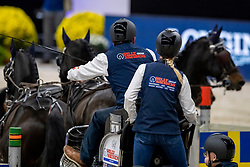 Exell Boyd, NED, Bajnok, Rocket, Demi, Barny<br /> JIM Maastricht 2019<br /> FEI Driving World Cup™ 2019/20 <br /> © Hippo Foto - Dirk Caremans<br />  08/11/2019
